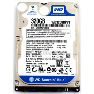 320GB and 250GB Sata Laptop HDD