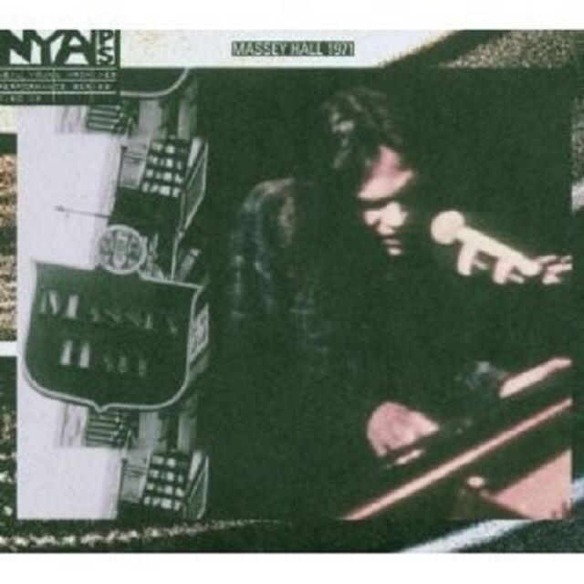 NEIL YOUNG - LIVE AT MASSEY HALL 1971 CD + DVD ROCK NEU