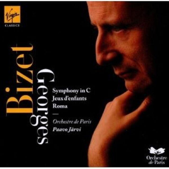 J.PAAVO/OP - SINFONIE C-DUR/JEUX/ROMA CD SINFONIE KLASSIK ORCHESTER NEU BIZET