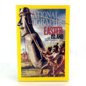 July 2012 National Geographic Magazine Issue Easter Island