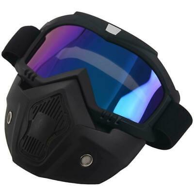 Maske Schutzbrille Motorrad BMX Mountainbike Ski Snowboard Paintball Softair