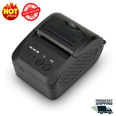 Direct Thermal Shipping Labelreceipt Portable Printer Wireless Barcode Pos