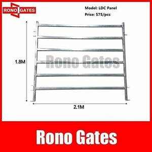 Heavy Duty Galvanized Steel Cattle Horse Yard Panel Hallam Casey Area Preview