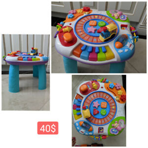 Baby Play Table (English/Chinese)