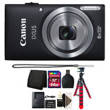 Canon IXUS 185 / ELPH 180 20MP Digital Camera with 64GB Top Accessory Kit