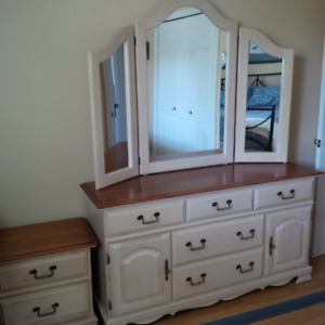 Canadel Dresser and Night Stand