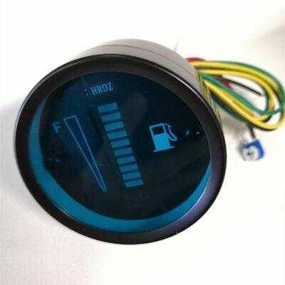 12/24V Universal 2inch 52mm Car Motorcycle Fuel Level Meter Gauge LED Display