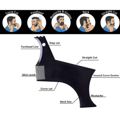 Men's Fashion Beard Molding Template Comb Pro Barber Tool Sy