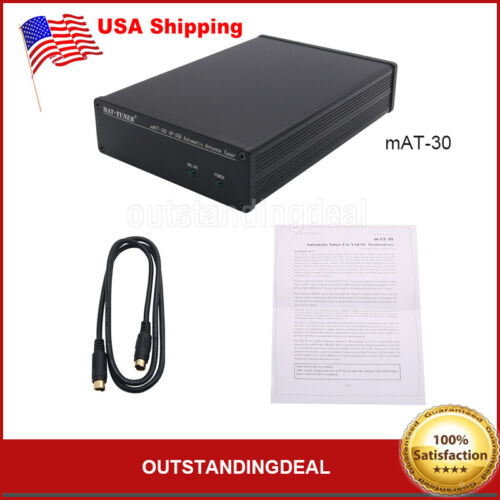 mAT-30 HF-SSB Automatic Antenna Tuner 120W Automatic Ham Radio for Yaesu US^