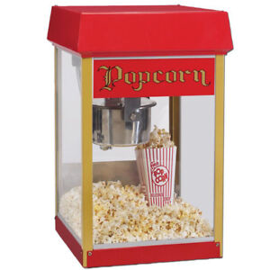4OZ POPCORN MACHINE + FREE shipping + FREE extended warranty