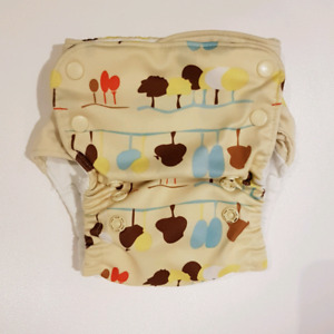 2 Grovia cloth diapers