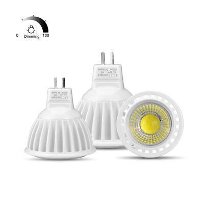 MR16 LED 12V AC/DC 12V Spot light Bulb MR16 Dimmable GU5.3 COB 3W 5W 7W lamp ()