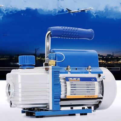 Newest 220v 1.5l Rotary Vane Vacuum Pump 180w Hvac Refrigerant Air Condition