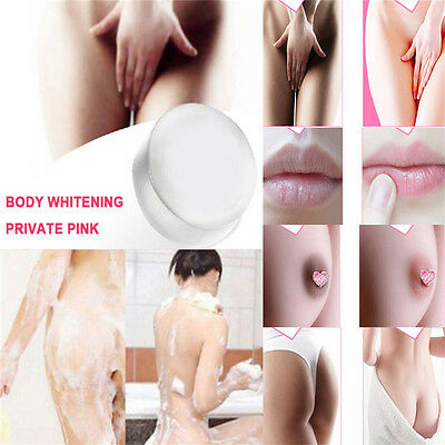 Soap Crystal Lips Skin Body Pink Whitening Nipples Intimate Private Bleaching