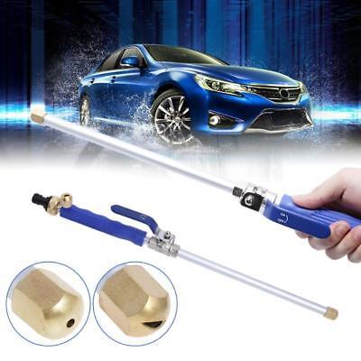 High Pressure Power Washer For Car Wash Spray Nozzle Water Gun Hose Lawn Floo