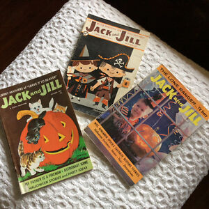 Halloween Jack and Jill and Humpty Dumpty Magazines