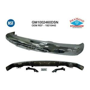 2004-2012 Chevrolet Colorado Front Bumper Face Bar - Diamond Standard NSF Certified ®