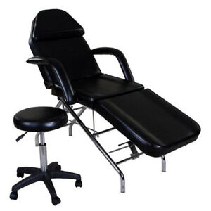 Facial/Beauty/Tattoo/Reiki/AestheticTable(Bed)+Rolling Stool