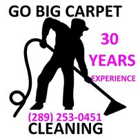 3 ROOMS OF CARPET STEAM CLEANED ONLY $79 GO BIG TODAY