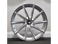 """18"""" Directional Style alloy wheels and tyres (5x112) Suit VW,SEAT AUDI ETC"""