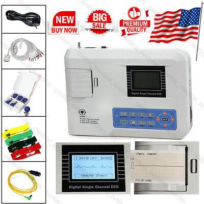 Ecg100g Digital Single Channel Ecgekg Machine 12-lead Electrocardioraph Contec