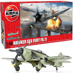 AIRFIX A06105 Hawker Sea Fury FB.II 1:48 Aircraft Model Kit