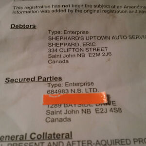 Stop using  Eric Shephard at 170 Charlotte Street he is a crook