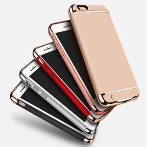 iPhone 8 2500 mah , 8 plus 3500mAh  Bank Case Ultra Thin Slim External Backup Battery Case