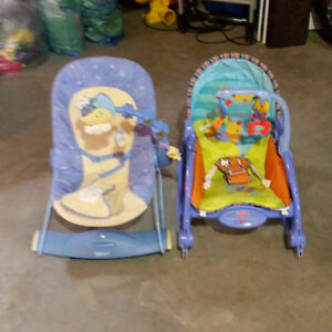Fisher Price Rocking/Vibrating Chair