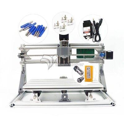 Mini Cnc 3018 Pro Laser 500mw Engraving Machine Pcb Milling Woodworking Station