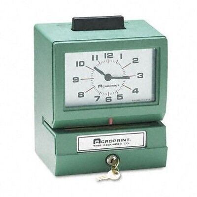 Acroprint Heavy Duty Time Clocks- Manual-125er3 01-1070-40a Time Clocks New
