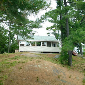 NEW PRICE - Cottage on Private Island on Lake Nipissing for Sale