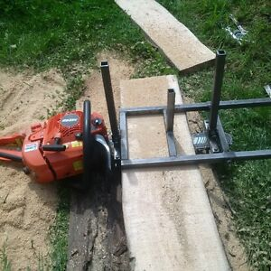 homemade chainsaw mills