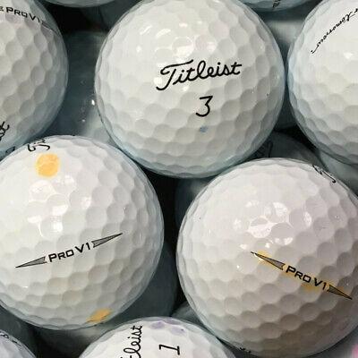 36 Pelotas Titleist Pro V1 Modelo 2019 AAA / AAAA Calidad ProV1V 1 lakeballs