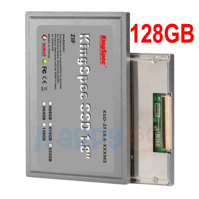 "1.8"" ZIF SSD 128GB for iPod Video 5th Ipod Classic 6th & 7th replace MK1634GAL"