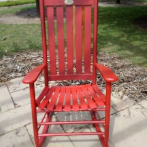 Beautiful Red Rocking Chair