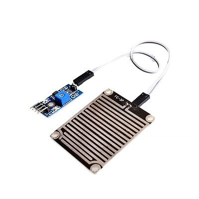 10pcs Raindrops Detection Sensor Module Rain Weather Module Humidity For Arduino