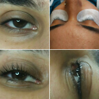 LengthEnvy hair extensions and Lash Lift + Tint