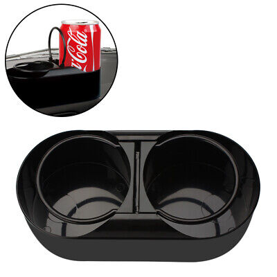 Universal Car Dash Trim Double Din Radio Pocket Drink Cup Holder Storage Box