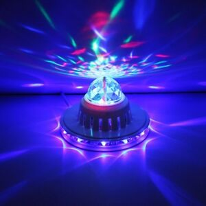 Sound activated Disco Lamp ( brand new)