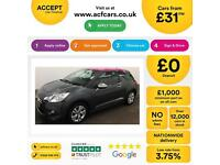 Citroen DS3 1.6e-HDi ( 90bhp ) Airdream DStyle FROM £31 PER WEEK!