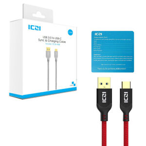 Brand New USB 3.1 Type-C Cable to USB 3.0 5 Pack (3.3FT x 3, 1FT