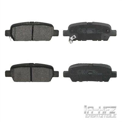 Bremsbeläge Satz Bremsklötze Beläge Bremsenteile Hinterachse für Renault Nissan (Nissan Tiida Teile)