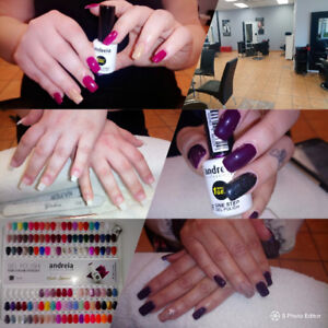 Pose ongles 35$!! Et manicure 20$!!