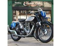 1952 Norton ES2 500 Classic Vintage Brooklands Ltd Edition Cafe Racer / Bobber.