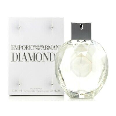 EMPORIO ARMANI DIAMONDS * 3.3/3.4oz (100 ml) EDP SPRAY * NEW in BOX * Not Sealed