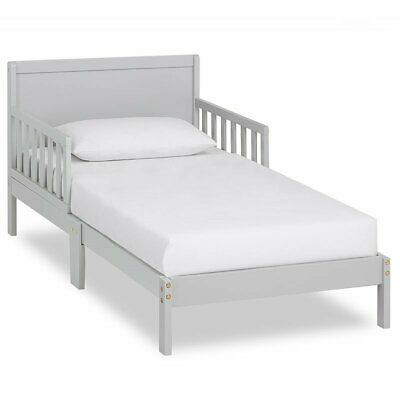 Dream On Me Brookside Toddler Bed in Pebble Grey