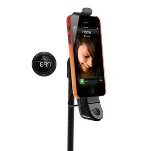 Belkin TuneBase Hands-Free FM Transmitter for iPhone 5 / 5S / 5c and iPod touch 5th Gen