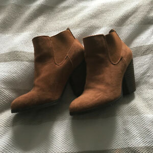 Booties (Brown) - Call it Sprint