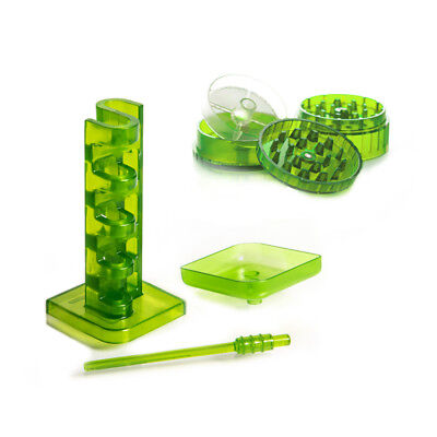 LEAN GREEN WIZARD  Cone Filling Machine with Herb Grinder